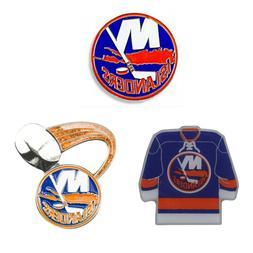"New York Islanders Lapel Pins About 1"" Tall NHL Hockey Licen"