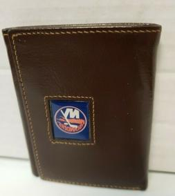 New York Islanders Leather TriFold Wallet - New Other / no b