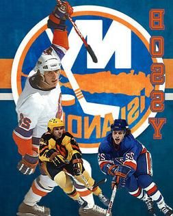 New York Islanders Lithograph print of Mike Bossy 2020