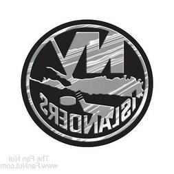 New York Islanders Logo 3D Chrome Auto Decal Sticker NEW! Tr
