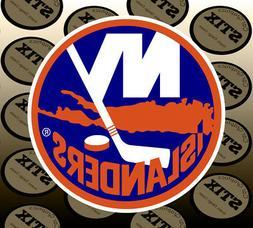 New York Islanders Logo NHL Color Die Cut Vinyl Sticker Car