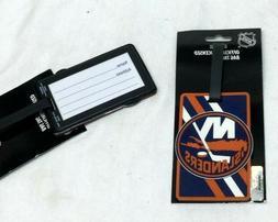 NHL New York Islanders Luggage Tag Travel Bag ID Golf Tag FR