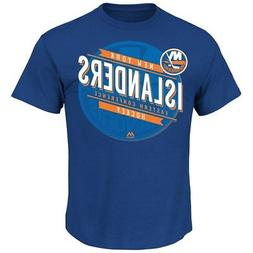 "New York Islanders Majestic NHL ""Earn Each Play"" Men's Fashi"