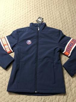 New York Islanders Mens Heavyweight Coat Jacket Small Nwt Le