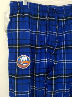 NHL New York Islanders Mens Lounge Pajama Pants Plaid New