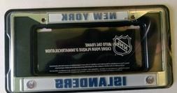 New York Islanders Metal License Plate Frame Licensed By Ric