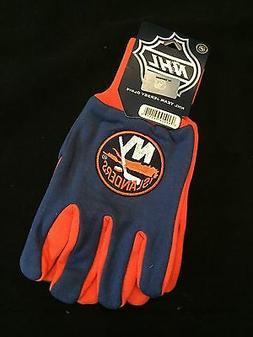 New York Islanders NEW Adult Sports Utility Work Gloves . NH