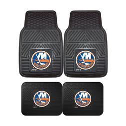 New York Islanders NHL 2pc and 4pc Mat Sets - Heavy Duty-Car