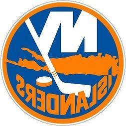 New York Islanders NHL Color Die Cut Vinyl Decal Sticker Cho