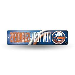 "New York Islanders NHL Hockey 16"" Street Sign Fan Wall Decor"