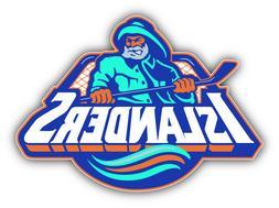 New York Islanders NHL Hockey Combo Logo Car Bumper Sticker