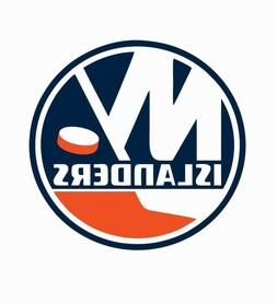 New York Islanders NHL Hockey Full Color Logo Sports Decal S