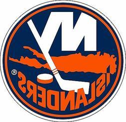 New York Islanders NHL Hockey sticker wall decor large vinyl