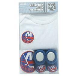 New York Islanders NHL Reebok Infant 3 Piece Creeper Combo S