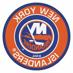 New York Islanders NHL Round Rug Floor Mat