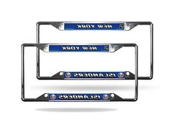 New York Islanders NHL  Chrome EZ View License Plate Frames