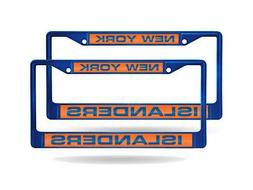 New York Islanders NHL  Blue Metal Laser Cut License Plate F