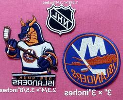 New York Islanders NHL Set3pcs Logo Patch sport Embroidery i