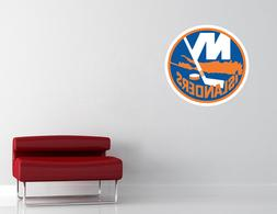 New York Islanders NHL Wall Decal Vinyl Sticker Decor Hockey