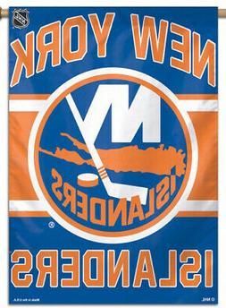 NEW YORK ISLANDERS Official NHL Hockey Team Premium 28x40 BA