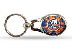 New York Islanders Oval Keychain