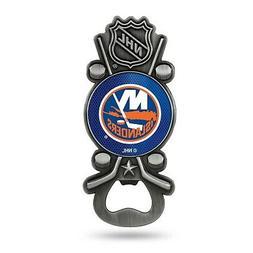 New York Islanders Party Starter Magnetic Pewter Metal Bottl