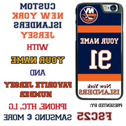 New York Islanders Personalized Hockey Jersey Phone Case Cov