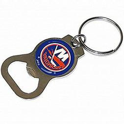 New York Islanders Premium Bottle Opener Key Chain Decal Emb