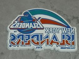 NEW YORK ISLANDERS RARE Vintage NHL RUBBER Hockey FRIDGE MAG