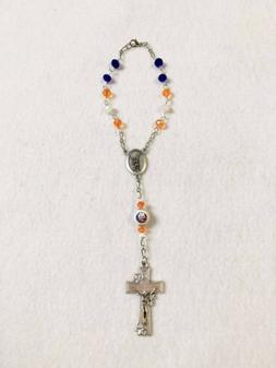 NEW YORK ISLANDERS ROSARY NHL CAR AUTO REARVIEW MIRROR ACCES