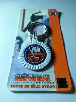 New York Islanders Round Key Ring  NEW