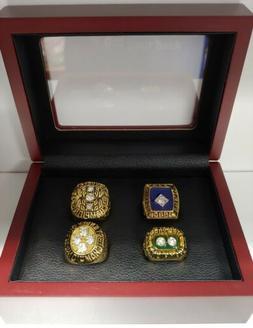 New York Islanders - Stanley Cup 4 Ring Set W Box. Trottier
