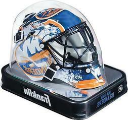 New York Islanders Unsigned Franklin Sports Replica Mini Goa
