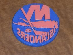 NEW YORK ISLANDERS Vintage Old NHL RUBBER Hockey FRIDGE MAGN
