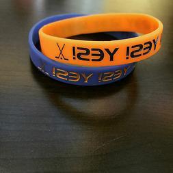 """New York Islanders """"Yes Yes Yes"""" Bracelet"""