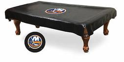 New York NY Islanders HBS Black Vinyl Billiard Pool Table Co