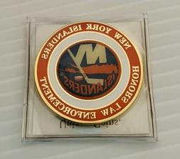 New York NY Islanders NHL Hockey National Law Enforcement Me