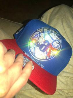 NBA CRYSTALLIZED Hat Snapback Baseball Cap w/Swarovski Cryst