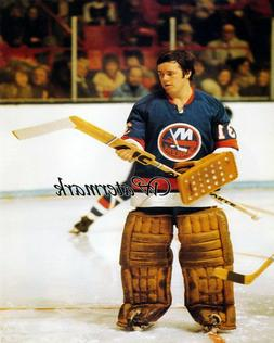NHL 1970's New York Islanders Goalie Billy Smith Color 8 X 1