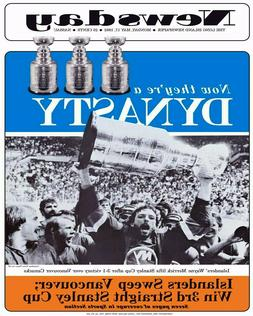 NHL 1982 New York Islanders Stanley Cup 8 X 10 Photo Picture