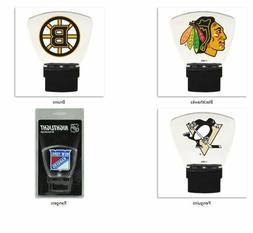 NHL Hi-Tech LED Night Light by Authentic Street Signs -Selec