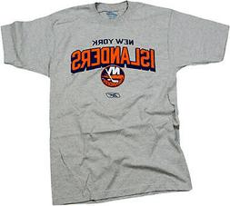 Reebok NHL Hockey Men's New York Islanders Team T-Shirt, Gra