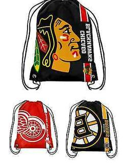 NHL Hockey Team Logo 2015 Drawstring Backpack - Pick Your Te