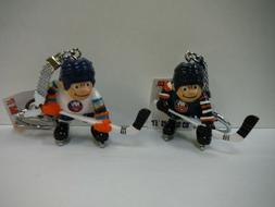 NHL Licensed Lil Sports Brat Hockey Collectible - NEW YORK I
