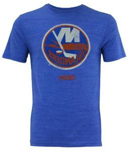 CCM NHL Men's New York Islanders  Premium Tri-Blend Bigger L