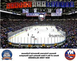 NHL Nassau Veterans Memorial Coliseum New York Islanders Col