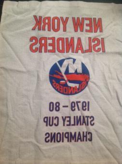 NHL New York Islanders 1979-1980 Stanley Cup Champion Banner