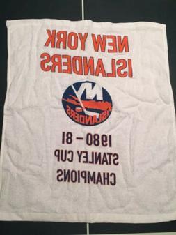 NHL New York Islanders 1980-1981 Stanley Cup Champion Banner
