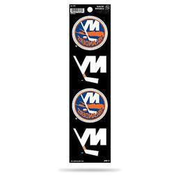 Rico NHL New York Islanders Die Cut 4-Piece The Quad Sticker