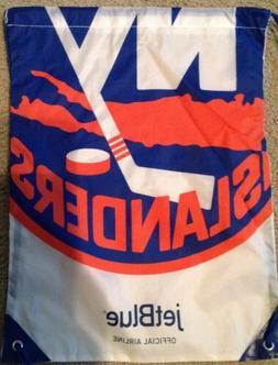 NHL NEW YORK ISLANDERS DRAWSTRING BAG BY JETBLUE